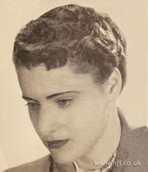 1950 crop waves hairstyle