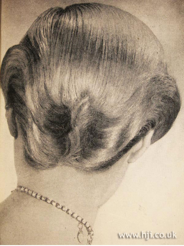 1950 short back hairstyle