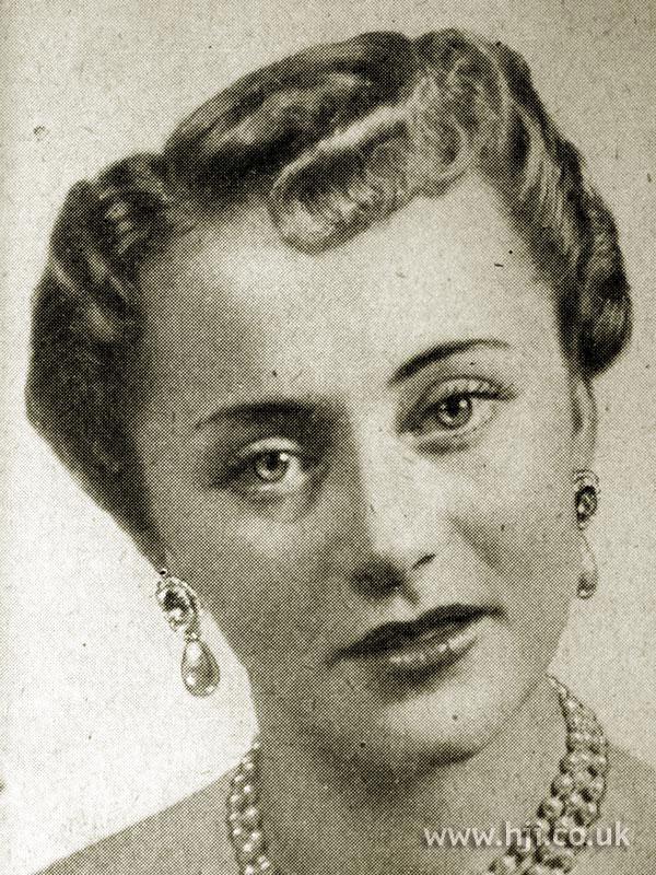 1951 flat curls