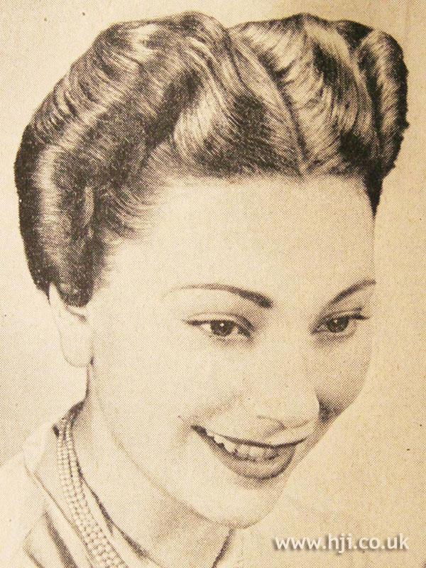 1951 parting wave hairstyle
