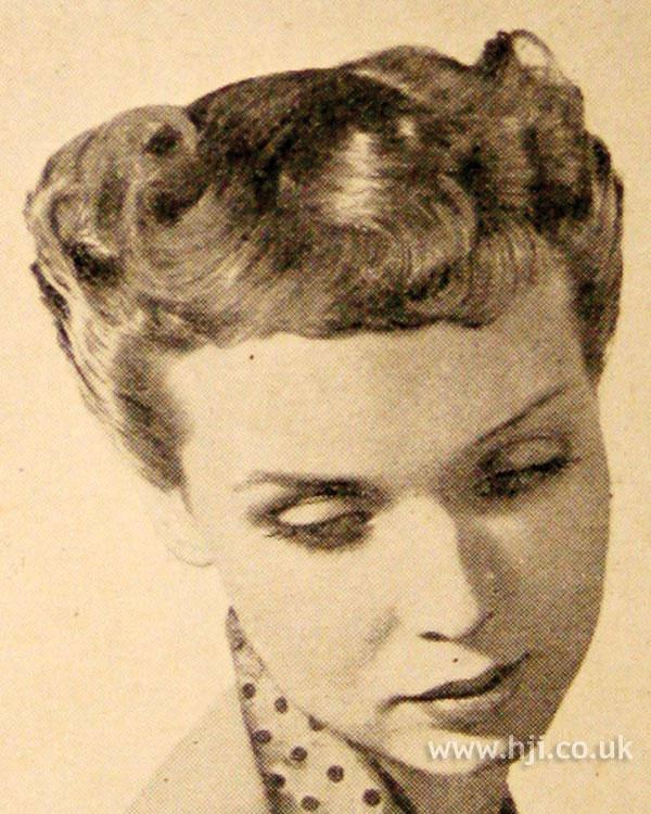 1951 short curls