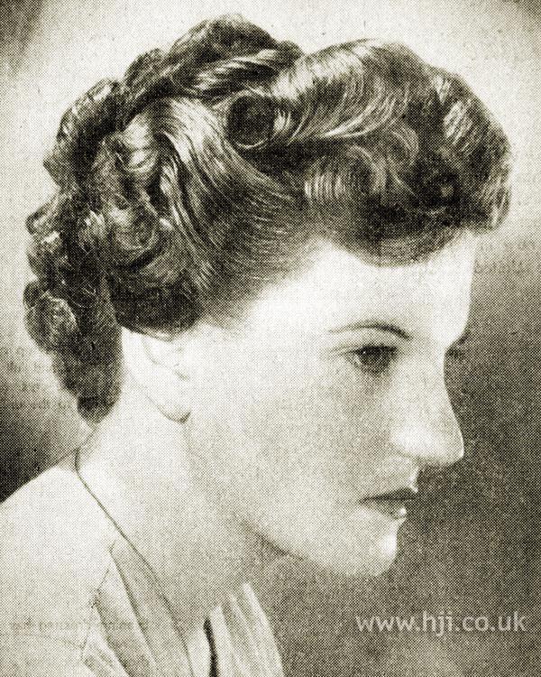 1951 tight curls