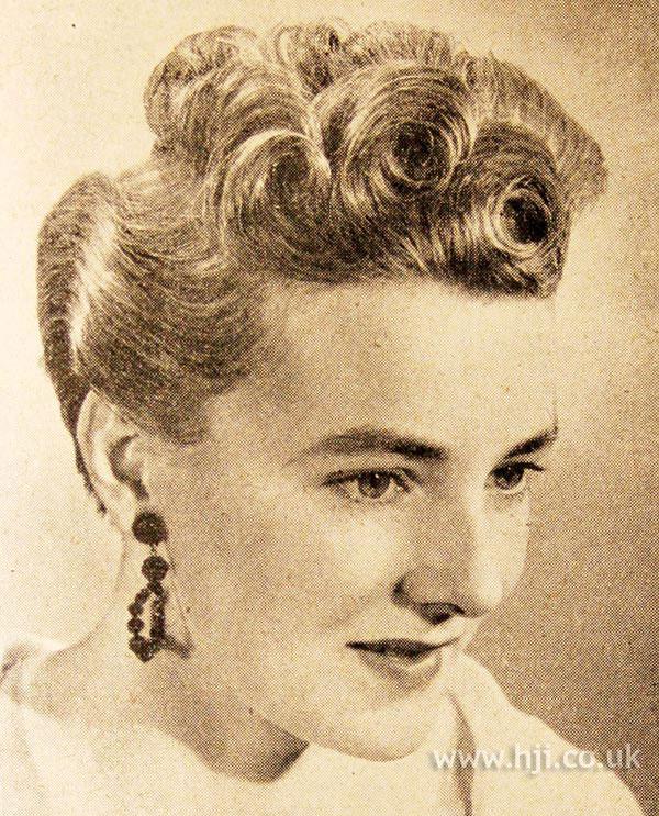 1951 top curls
