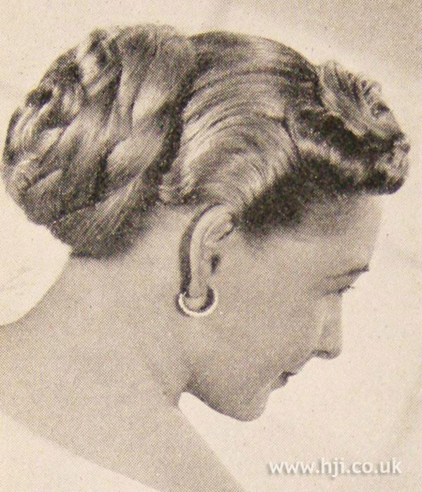 1951 updo plait