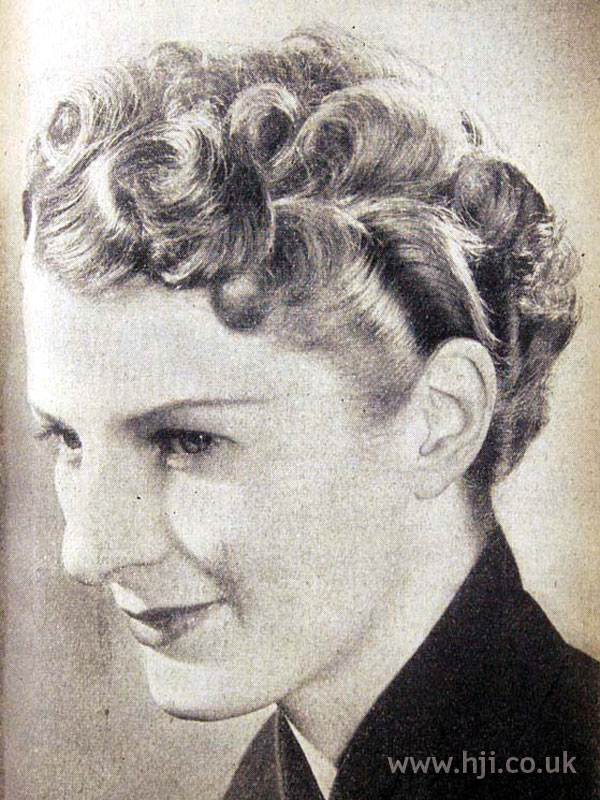 1953 top curls