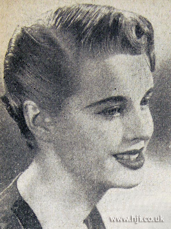 1954 side-parted updo
