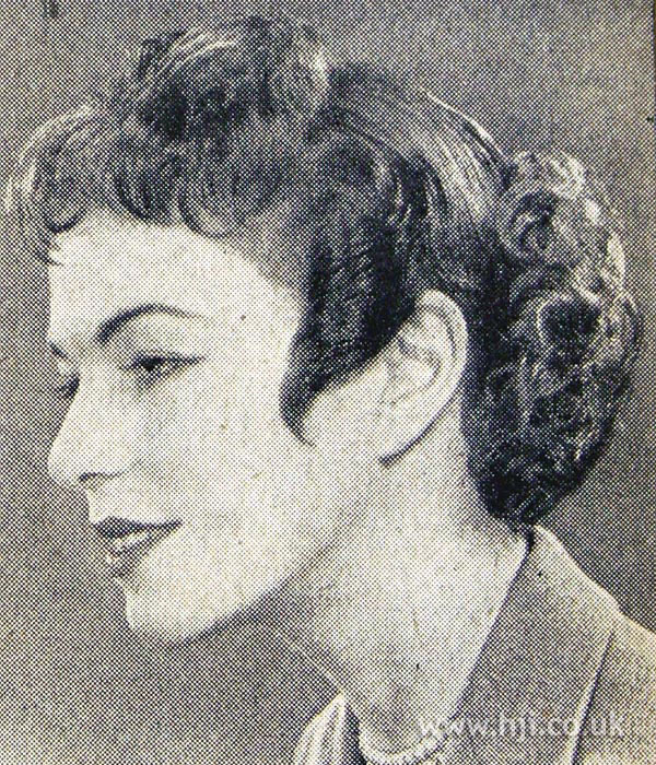 1954 short curly hairstyle