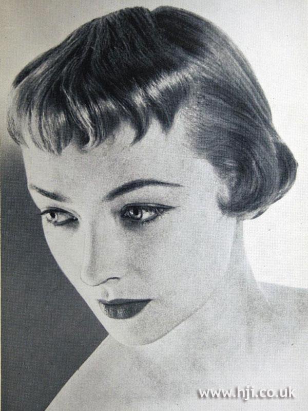1954 bob with short fringe