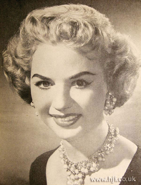 1956 blonde curls