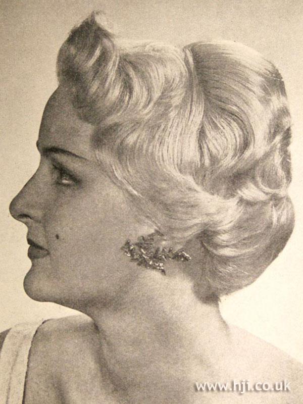 1956 blonde profile
