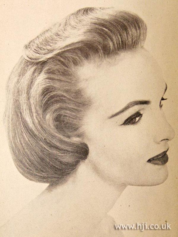 1956 blonde quiff