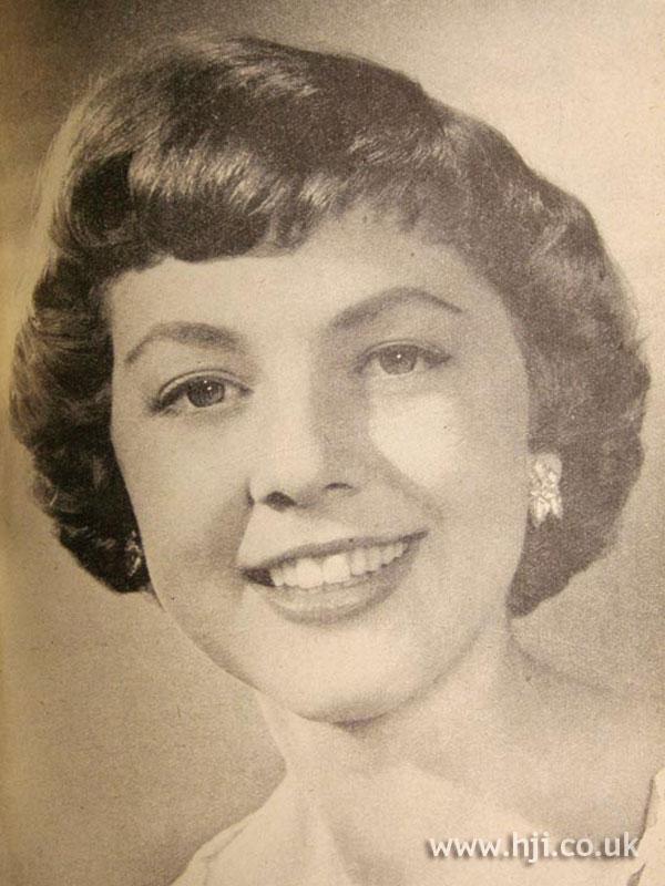 1956 brunette bob