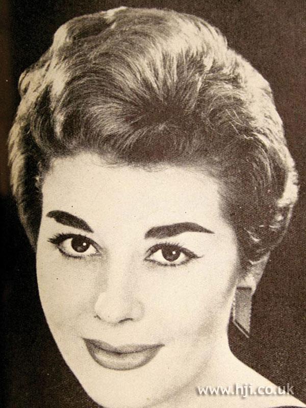 1956 brunette neat
