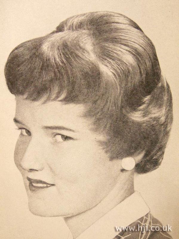 1956 brunette shape