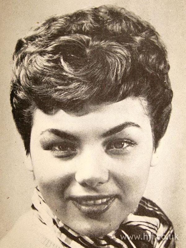 1956 short brunette