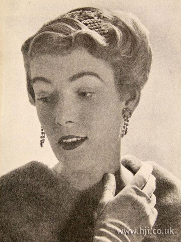 1957 blonde waves
