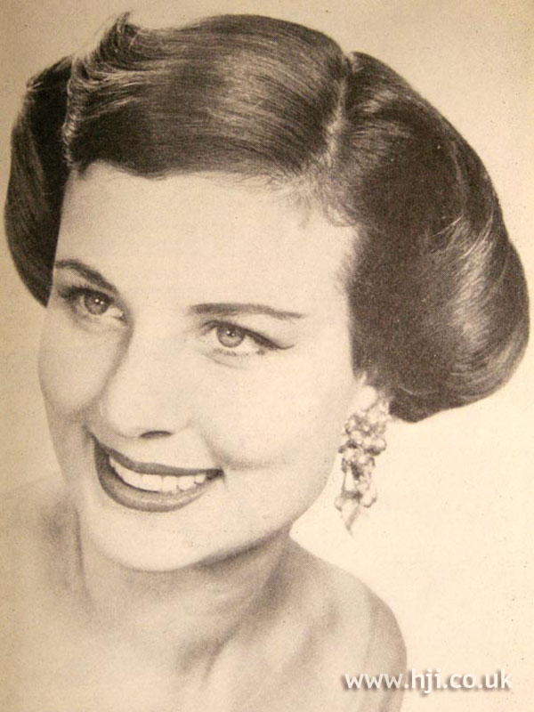 1957 brunette formal