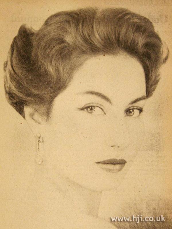 1957 brunette quiff1