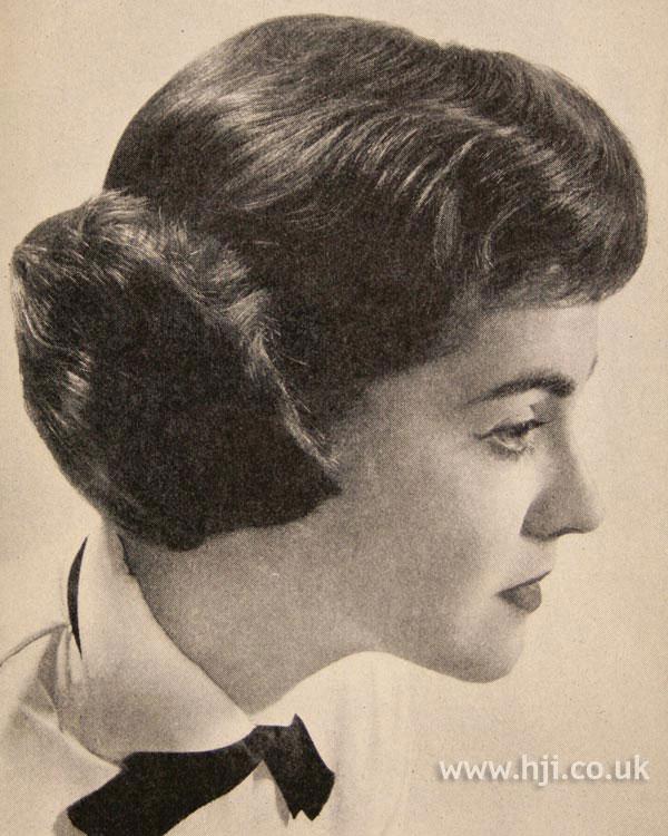 1957 brunette short1