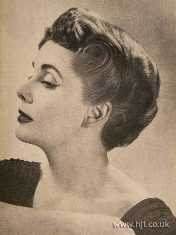 1957 brunette swirl