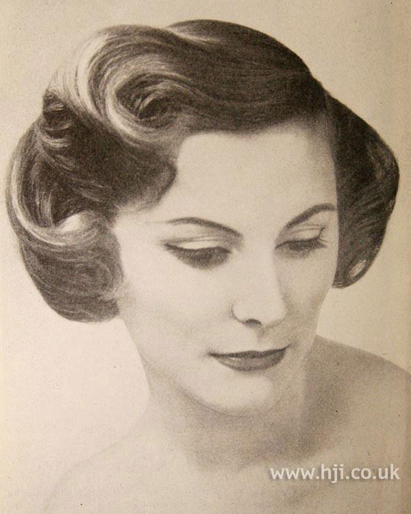 1957 brunette wave