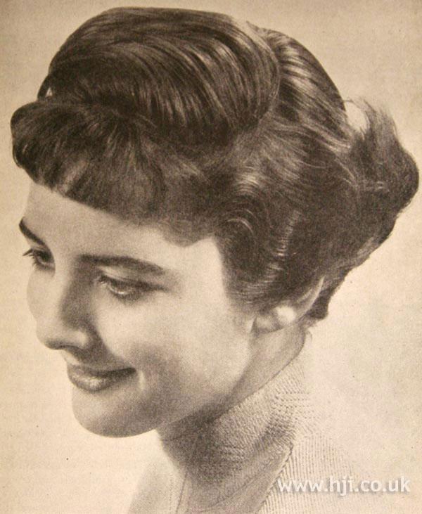 1957 fringe brunette