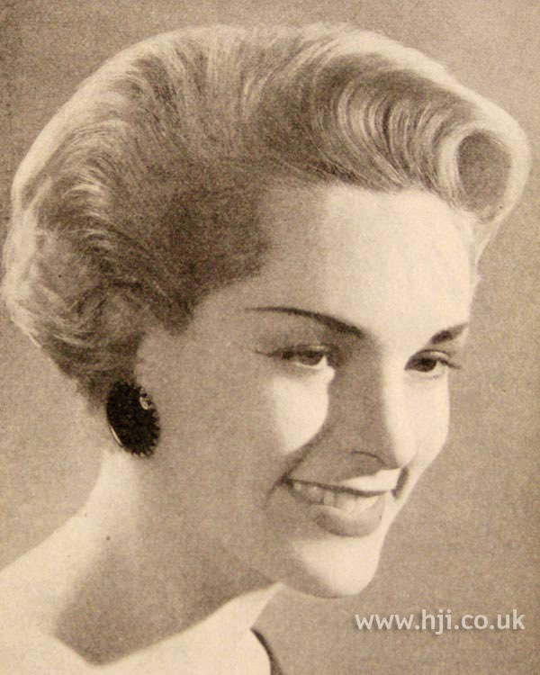 1957 quiff blonde