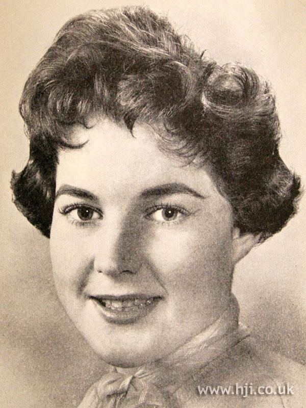 1957 short brunette