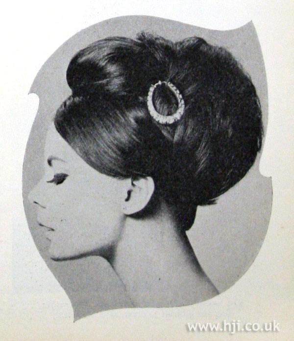 1962 brunette accessory hairstyle