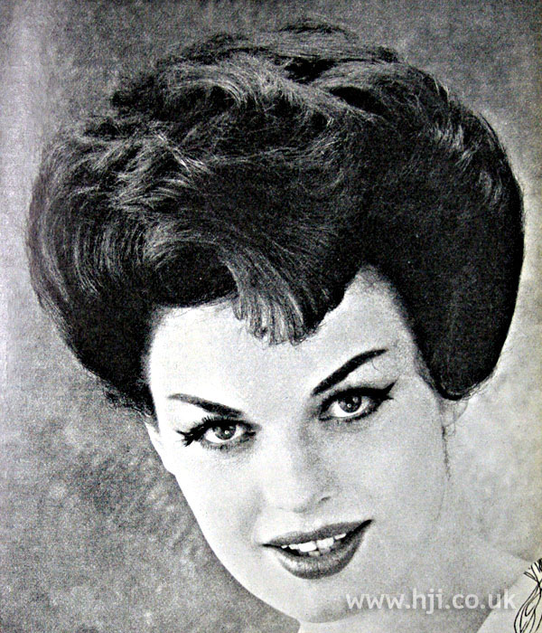 1962 brunette quiff