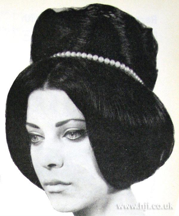1962 dark updo
