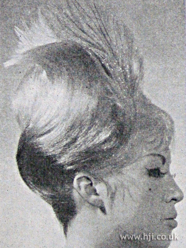 1962 tall feather hairstyle