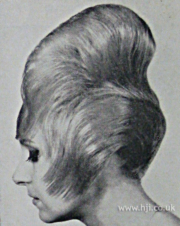 1962 tall sleek beehive