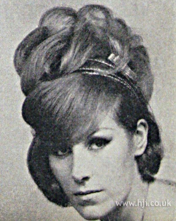 1962 updo fringe
