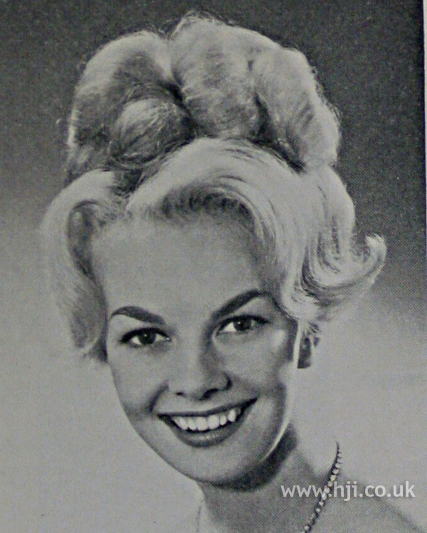 1962 waves updo