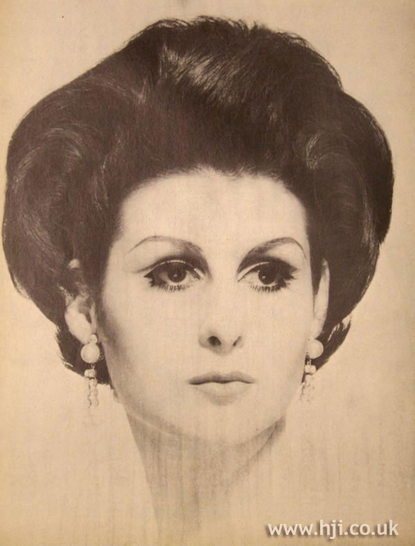 1966 brunette formal
