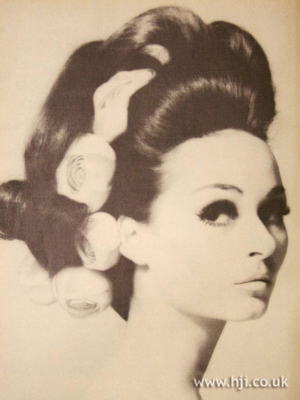 1966 updo roses