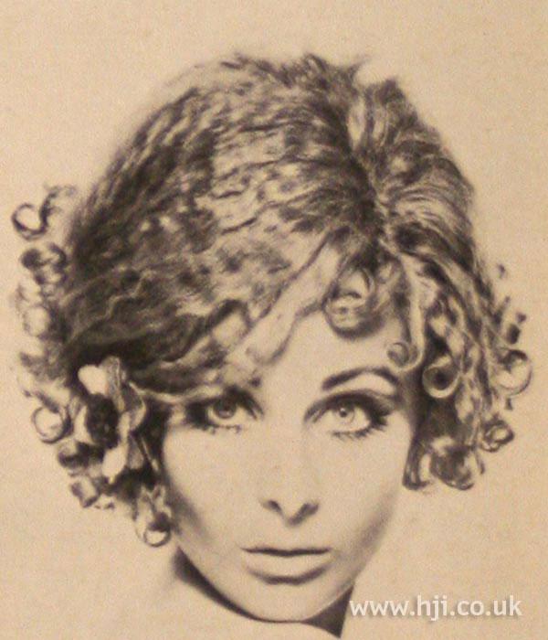 1967 blonde crimped