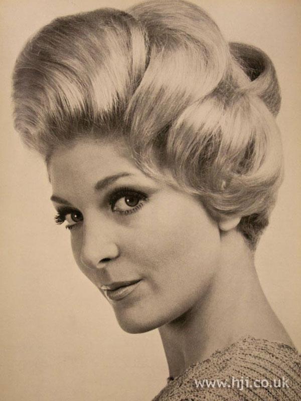 1967 blonde updo