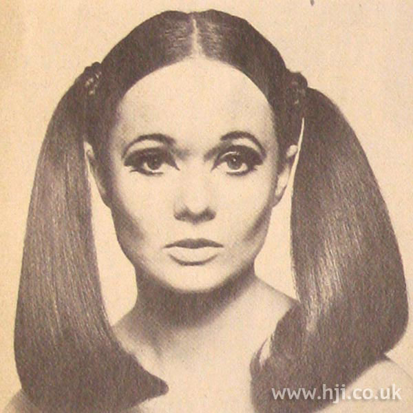 1967 brunette bunches