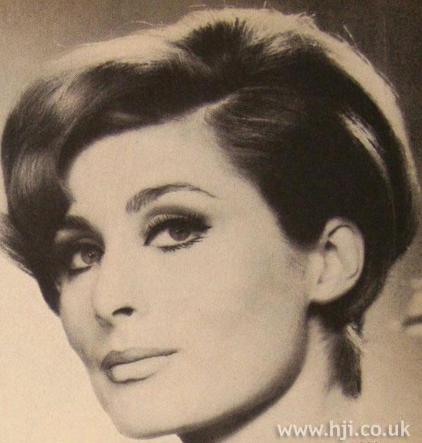 1967 brunette parting
