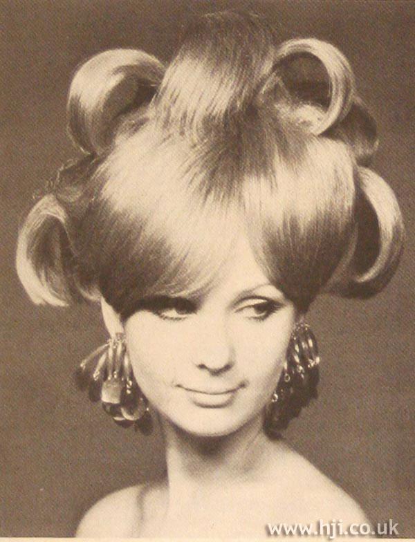 1967 elaborate curls
