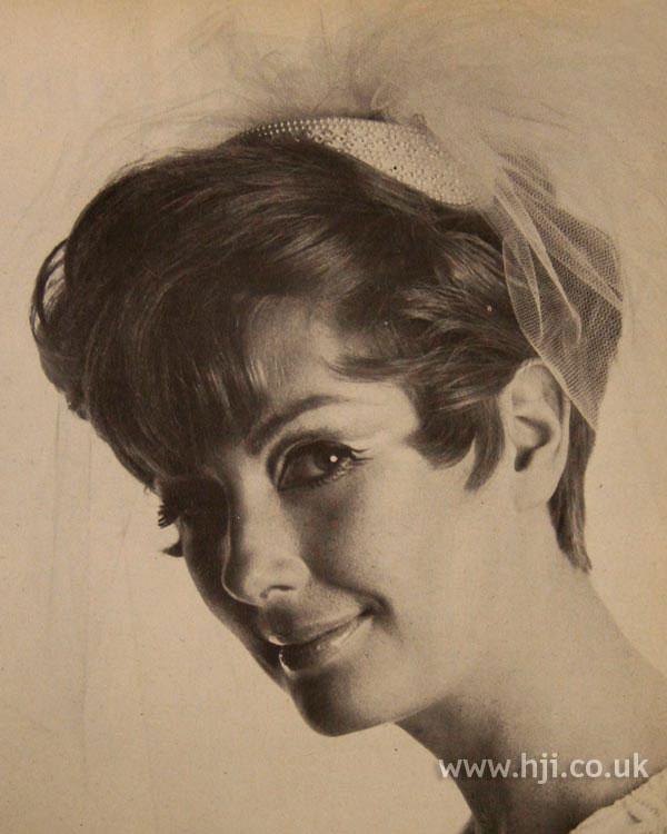 1967 fringe brunette