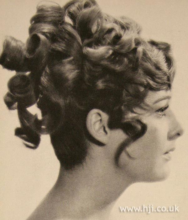 1967 updo curls