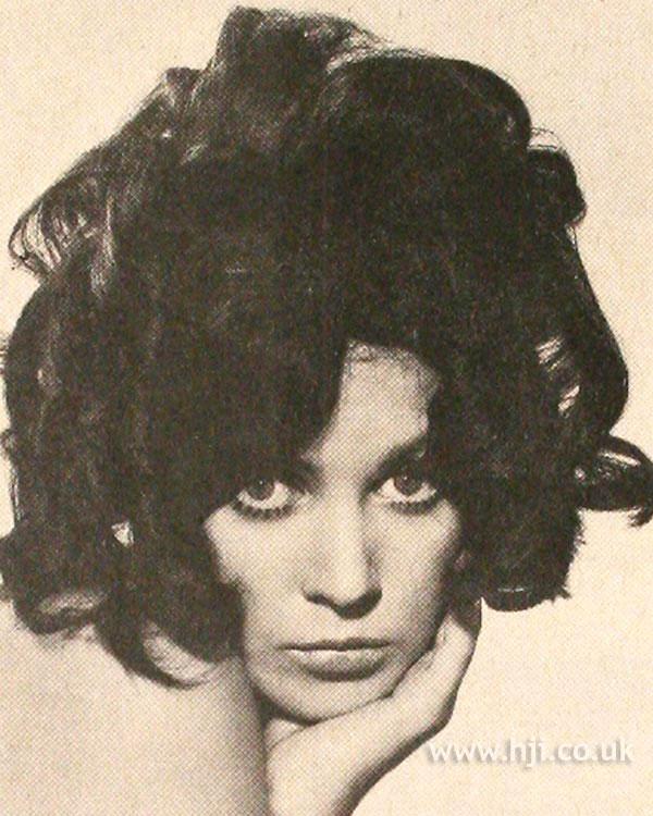 1968 brunette curls hairstyle
