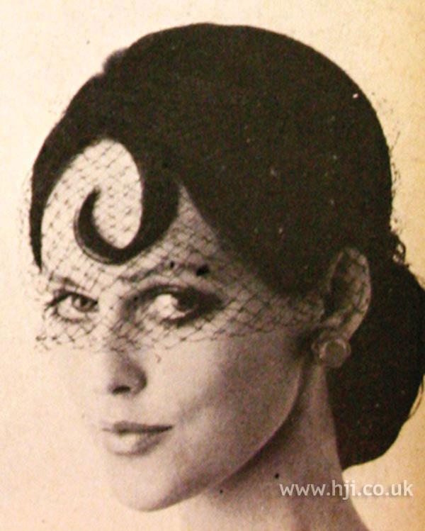 1968 fringe brunette