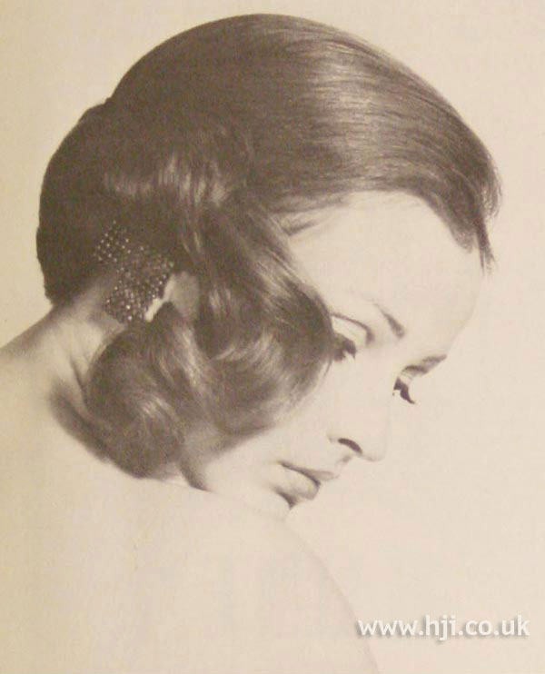 1968 side ponytail