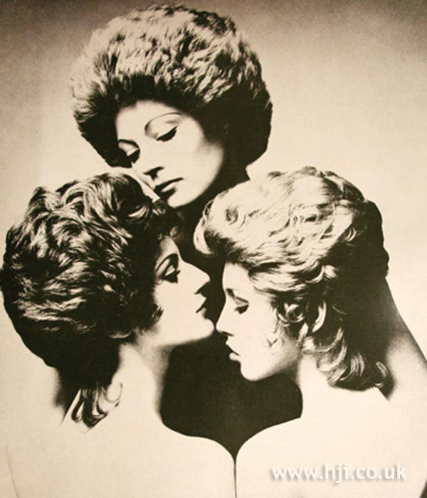 Richard Thompson 1960s hair models