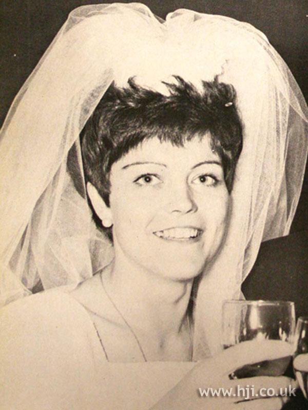 1969 brunette bride