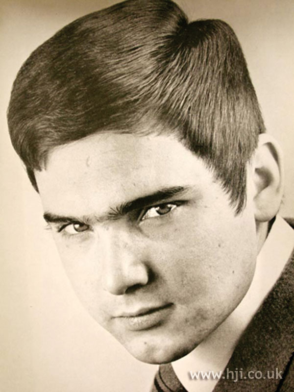 1969 cropped straight hairstyle